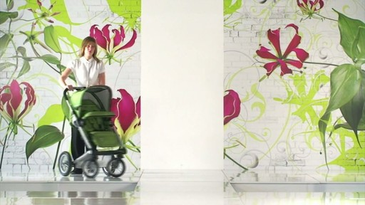Mutsy 4 Rider Lite College Green Carrycot - image 6 from the video