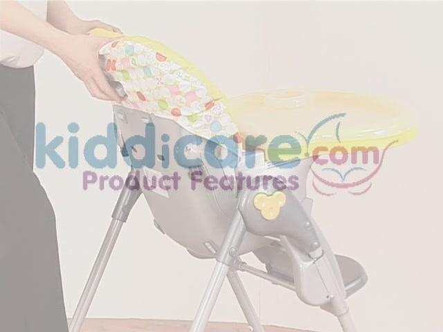 Brevi Jupiter Classic Highchair Product Features - Kddicare - image 1 from the video