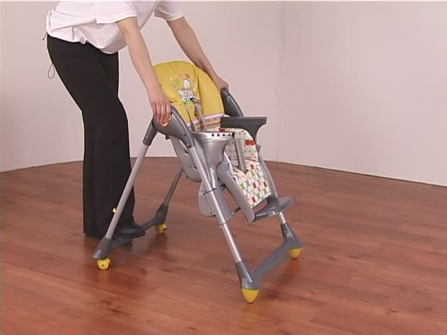 Brevi Jupiter Classic Highchair Product Features - Kddicare - image 9 from the video