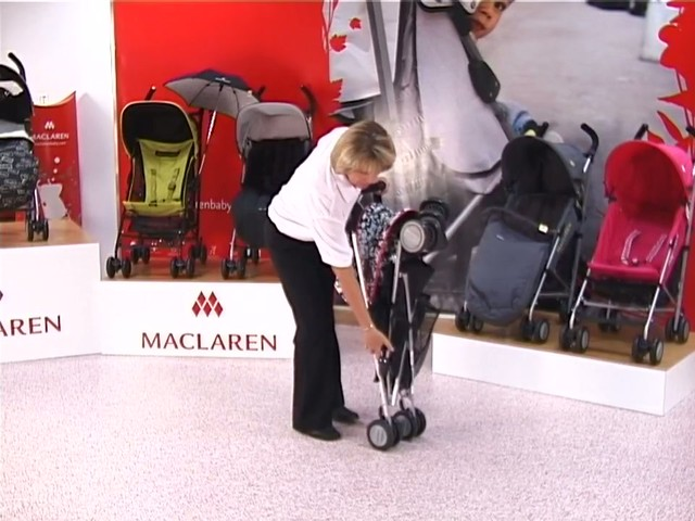 Maclaren Quest Lulu Guinness Pushchair - image 10 from the video
