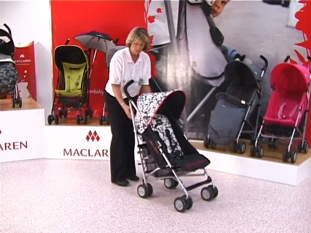 Maclaren Quest Lulu Guinness Pushchair - image 2 from the video