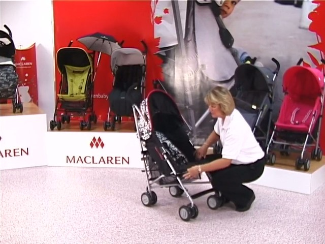 Maclaren Quest Lulu Guinness Pushchair - image 4 from the video