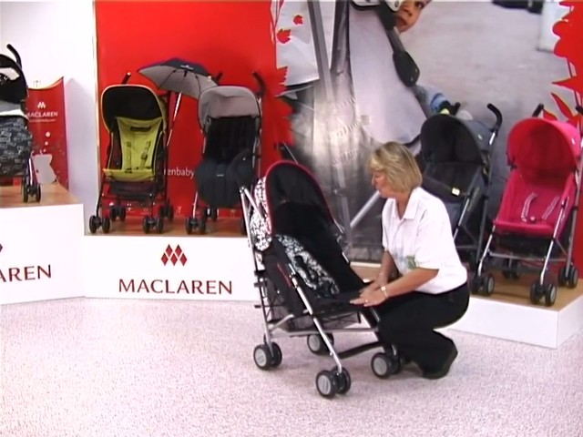 Maclaren Quest Lulu Guinness Pushchair - image 5 from the video