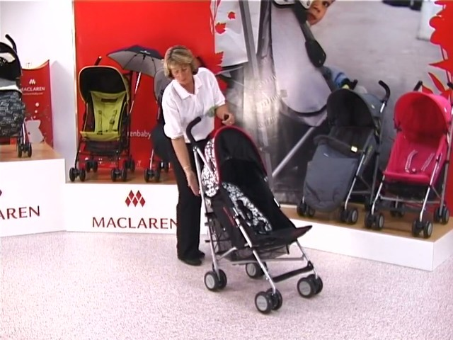 Maclaren Quest Lulu Guinness Pushchair - image 7 from the video