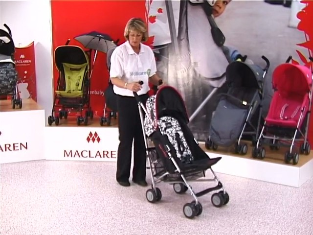 Maclaren Quest Lulu Guinness Pushchair - image 8 from the video