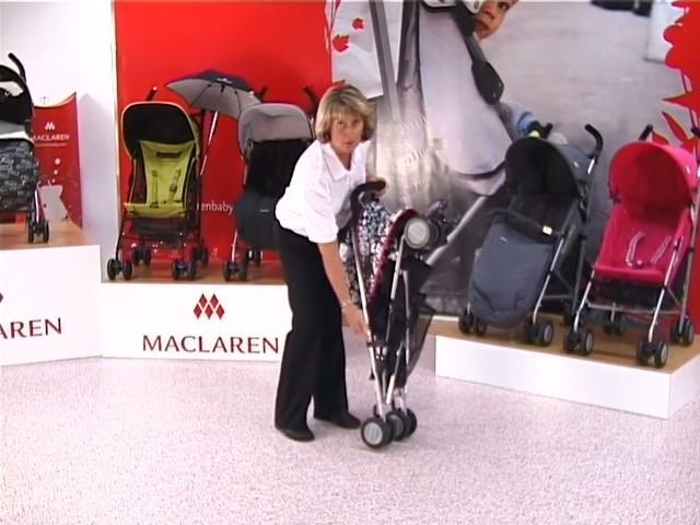 Maclaren Quest Lulu Guinness Pushchair - image 9 from the video