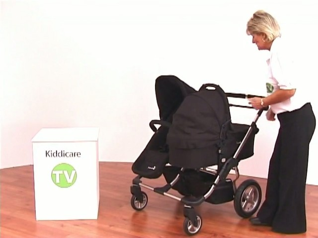 First Wheels Carry Cot - image 6 from the video