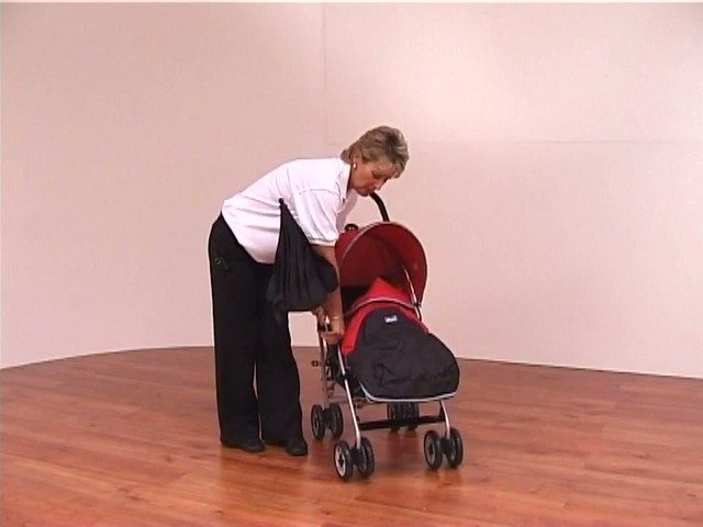 Red kite Push Me twin Jogger Accessories - image 1 from the video