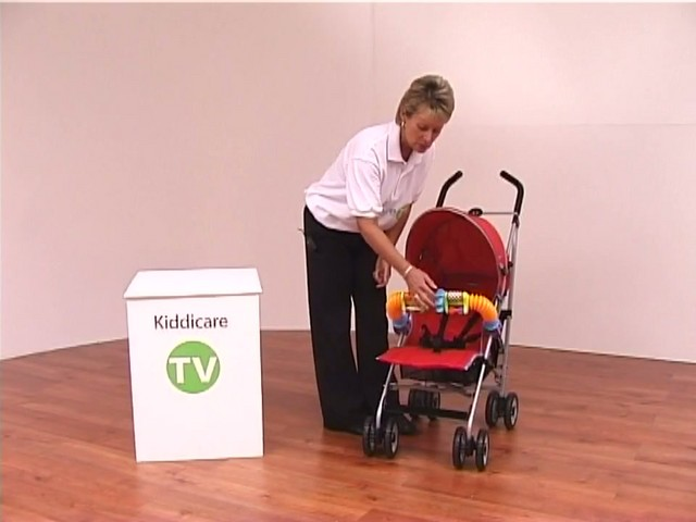 Red kite Push Me twin Jogger Accessories - image 10 from the video