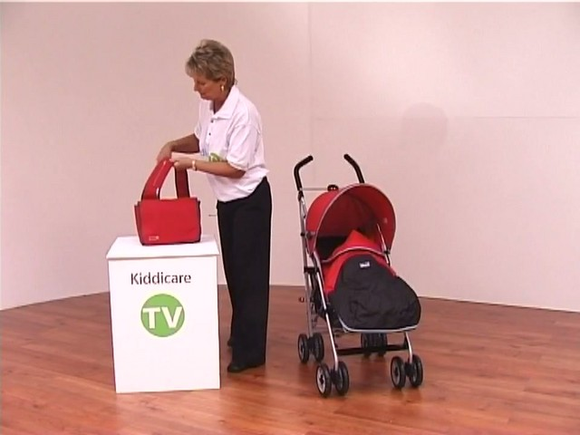 Red kite Push Me twin Jogger Accessories - image 2 from the video
