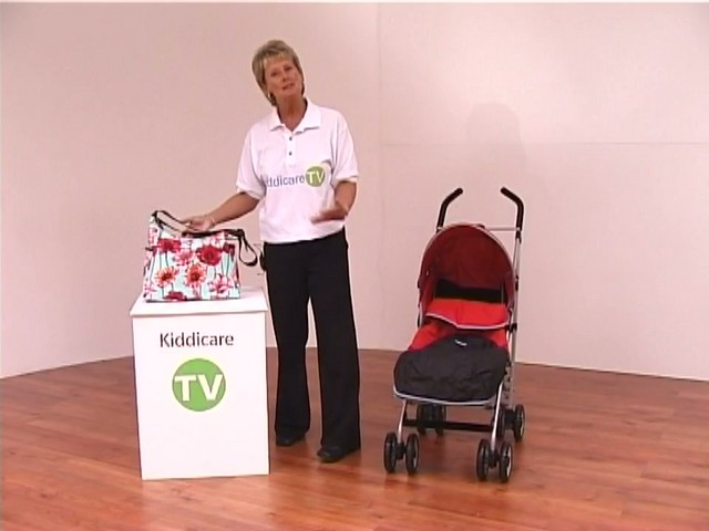 Red kite Push Me twin Jogger Accessories - image 4 from the video