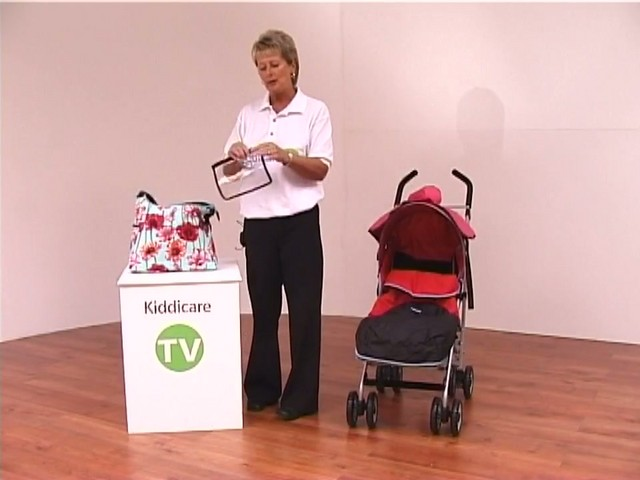 Red kite Push Me twin Jogger Accessories - image 6 from the video