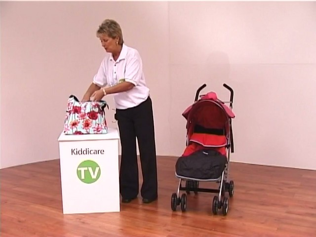 Red kite Push Me twin Jogger Accessories - image 7 from the video