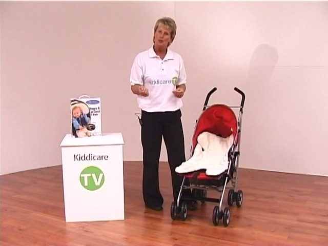 Red kite Push Me twin Jogger Accessories - image 9 from the video