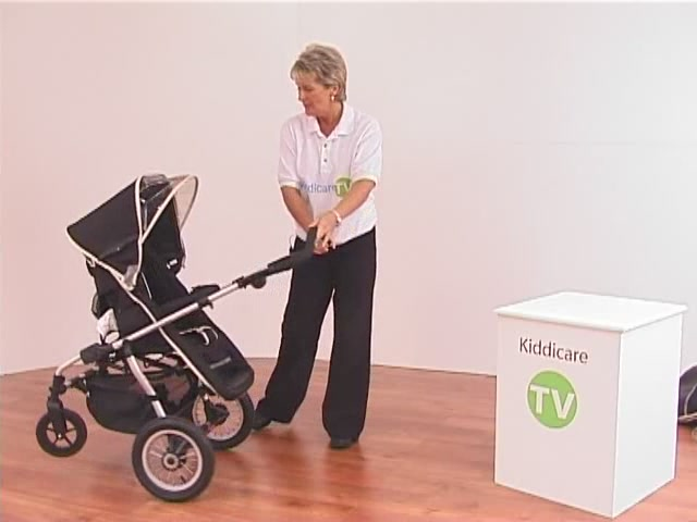Hauck Infinity Pushchair and Carrycot - image 6 from the video